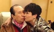 赌王何鸿燊93岁大寿 四太嘟嘴献吻
