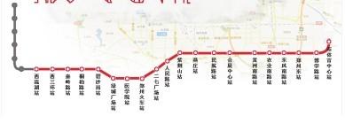 郑州地铁1号线今日正式试运营 开启中原城市新格局_河南频道_凤凰网