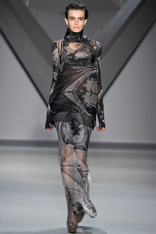 Vera Wang 2012秋冬纽约时装周