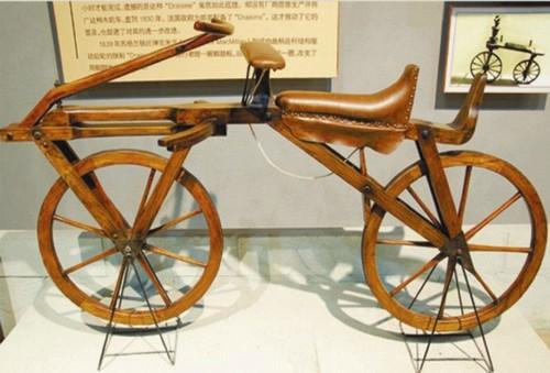 古老的一辆自行车