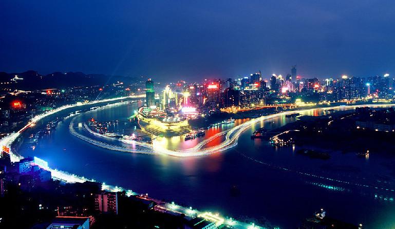 夜入山城观赏未眠的重庆 江苏频道 凤凰网