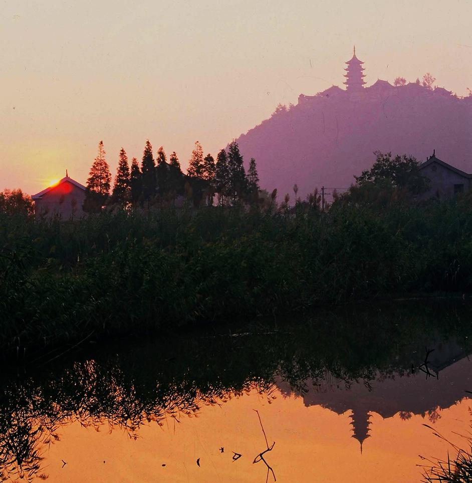 【南通】狼山 天然水石盆景