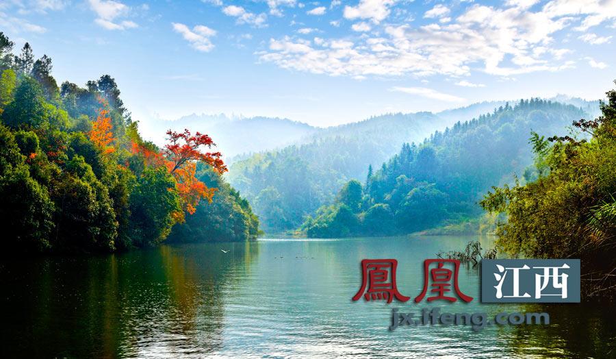 江西吉安安福武功湖-天上草原安福武功山 组图