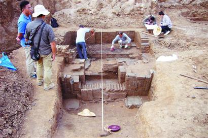 即墨发掘千年古墓 老青岛人宋朝当土豪