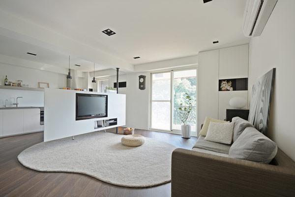 二居室 88㎡ 客厅装修效果图 二居室 88.28平米 装修设计