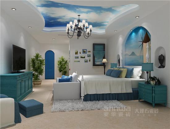 安华瓷砖地中海风格装修效果图-时尚圈发布2015流行色 安华瓷砖搭出