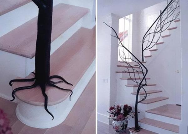 创意楼梯四大热门元素:色彩 滑梯 悬浮 视错觉