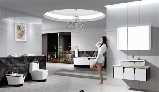 法恩莎卫浴黛系列,让家具完美升格!凤凰家居浴室石家庄转让二手图片