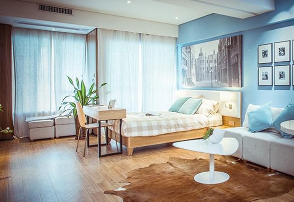 原木打造的室内设计就是这样文艺小清新图片