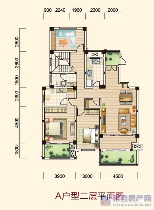 开阔三房,入户花园,玄关尽显优雅,超大露台设计,闲情逸致;大尺度主卧