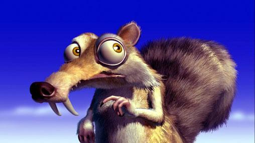 松鼠斯克莱特 (点击图片进入下一页) 固定班底:松鼠斯克莱特 斯克莱特有着一双暴瞪的眼睛和超尖超长的犬齿,是《冰河世纪》一个重要又可爱的角色,他为了坚果可是拼死了命。不过,拿到了坚果,却总也打不开,于是,他只能把坚果使劲地踩入地下,没打开不说,还让自己总是陷入一次又一次山崩地裂,火山爆发。 不过,他那为坚果发狂,从而引出一大堆笑料的事迹已让很多粉丝把他深深地记在心中。在第二部中,他又勇斗食人鱼,并在拯救坚果的同时也拯救了大家,把冰水引出了平原。在第三部中,他为一只母松鼠Scratte陷入爱河。在第四部中