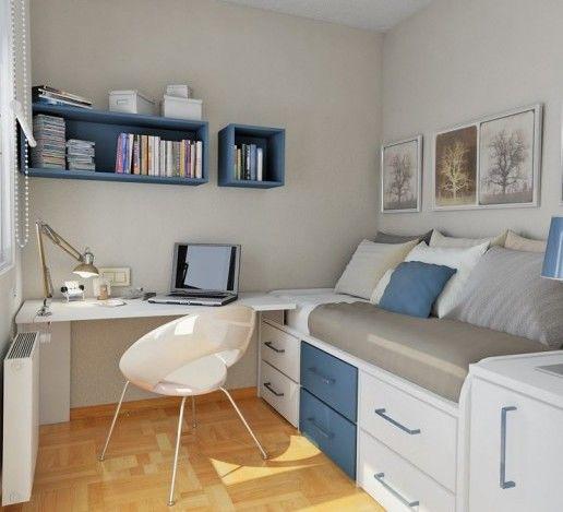 小清新卧室装修设计 年轻人的最爱