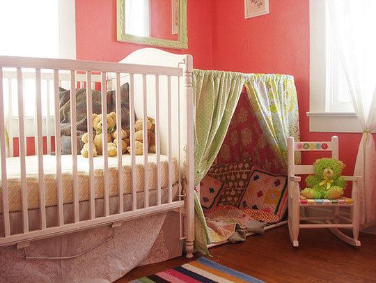 玩耍睡觉好去处 儿童游戏帐篷房让孩子美梦成真