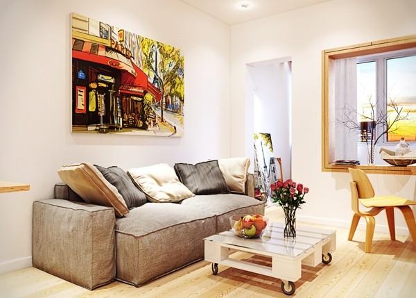 冬日暖阳 暖色家居装饰给你一个温暖家