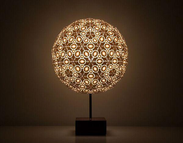 看看这几款纽约设计周上的3D打印灯  你家该换灯了