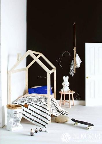 31张儿童室内创意案例 北欧风格不一定要黑白灰