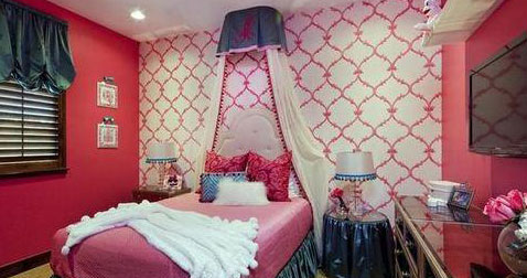 缤纷童年色彩 给孩子最美丽的儿童房