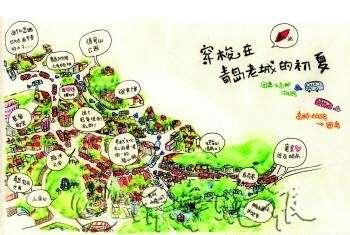 佛山女孩手绘254幅青岛美景 网友直呼青岛真美