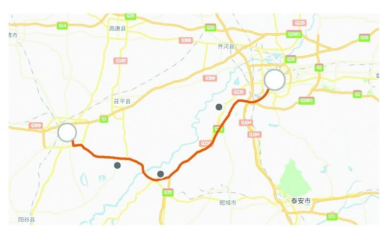 """济聊车程将缩至27分钟 聊城或成济南""""西花园""""_青岛"""