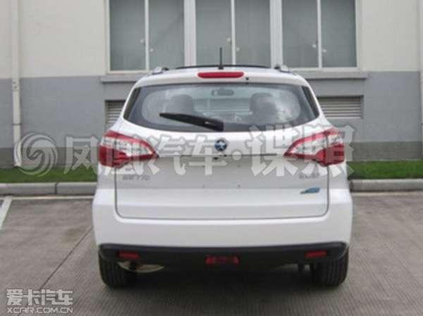 启辰首款SUV申报图 新车定名为 T70高清图片