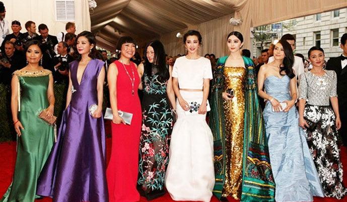 2015纽约大都会时尚盛典 女星争艳