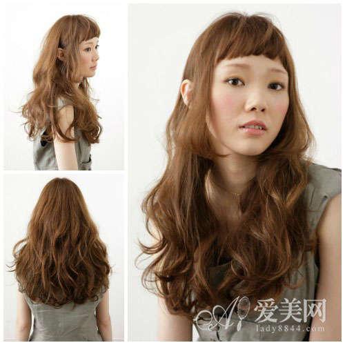 超短齐刘海超独特发型你敢尝试吗