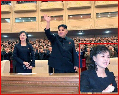 朝鲜第一夫人中长卷发亮相引来关注