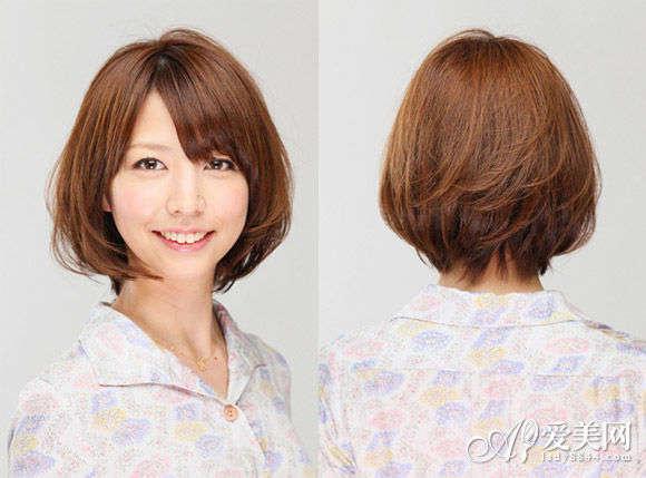 2013发型短发v发型花式染发a发型自然图片老年人烫短发发型图片