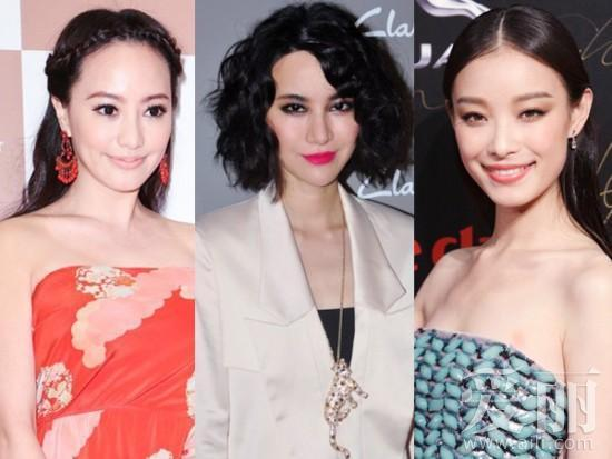 【爱美】一周红毯最佳妆容盘点:尚雯婕哥特范儿最抢镜