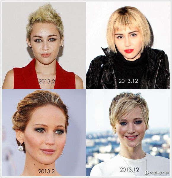 【发型屋】女星以身试发 谁的改变最成功?