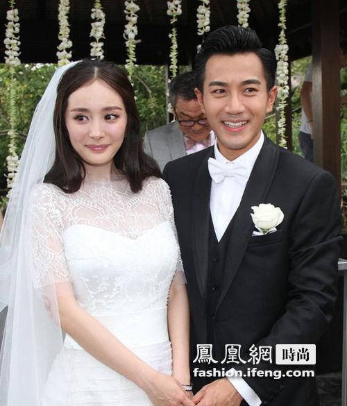 【爱美】杨幂领衔 女星新娘妆小烟熏受捧