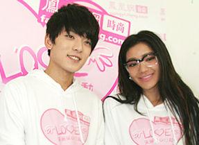 2011年10月13日美丽爱心行动北京行:携手江映蓉、陈翔关爱儿童