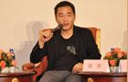 2013中国时尚产业圆桌论坛现场,艺之卉时尚集团董事长周胜发表观点。