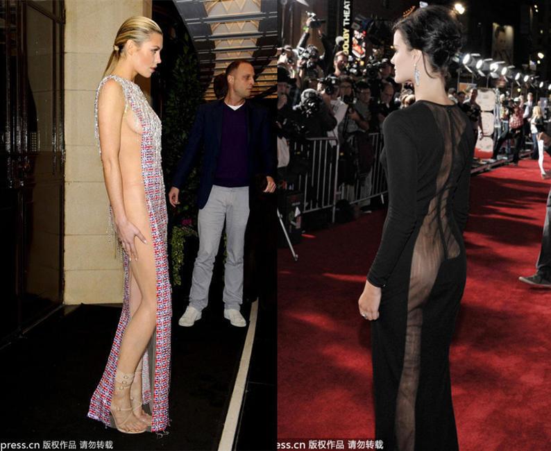 时尚圈刮露臀风 穿礼服真空很必要 时尚频道