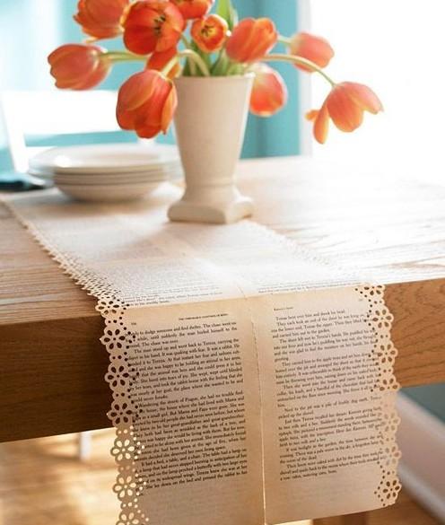 桌布装饰浓情美家 书写餐桌上的恋爱哲学