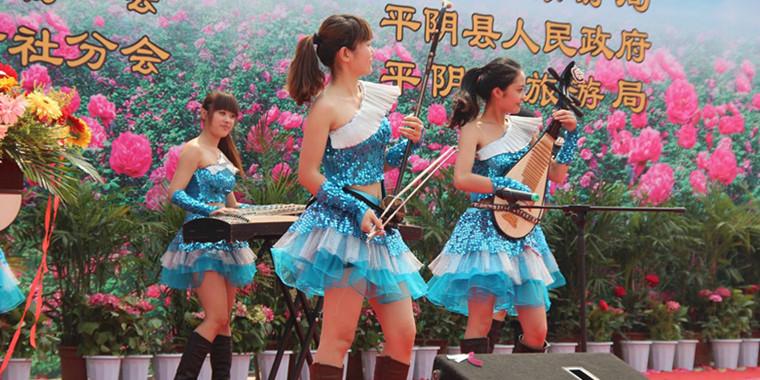 济南平阴玫瑰花节