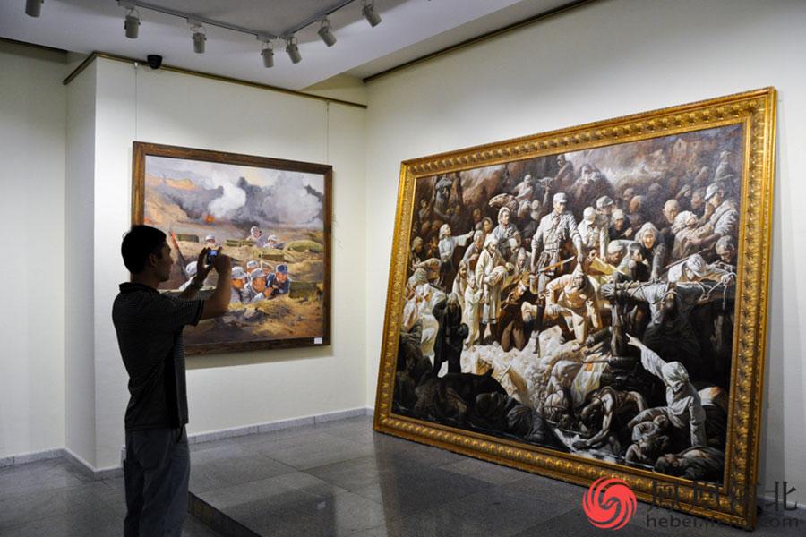 英烈祭民族魂中国梦 书画摄影诗词作品展开展