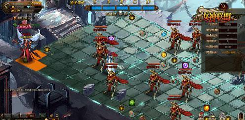 画地为牢 女神联盟 地牢围攻步步凶险
