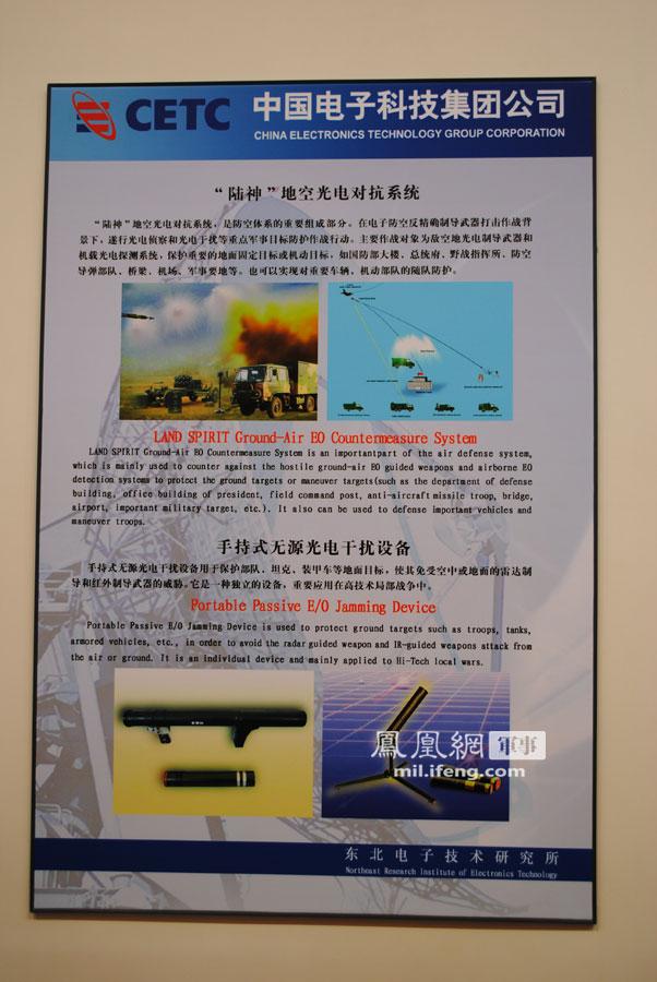 中国一批新型对抗武器亮相 可令多数制导武器失灵