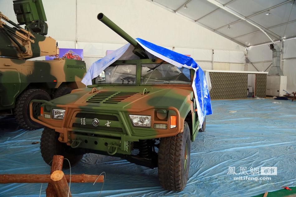 中国两款神秘车载自行炮系统在珠海首次现身