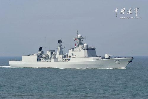 中俄混合舰队足以压制航母 在日本海亮强大火力