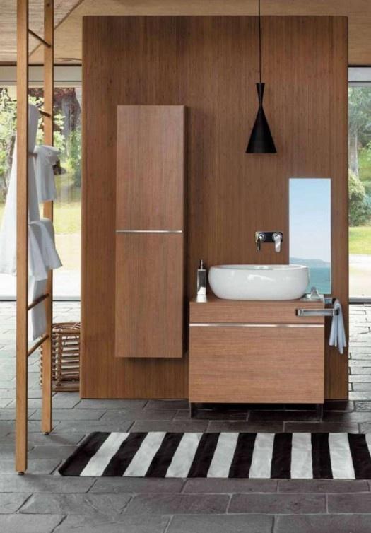 木质卫浴间设计 个性浴室享受高端生活