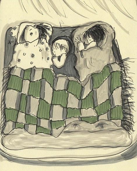 英国母亲超有爱日记 用漫画记录宝宝成长