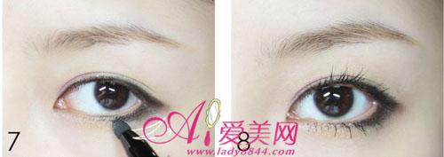 下垂眼线的画法 教你打造无辜大眼妆