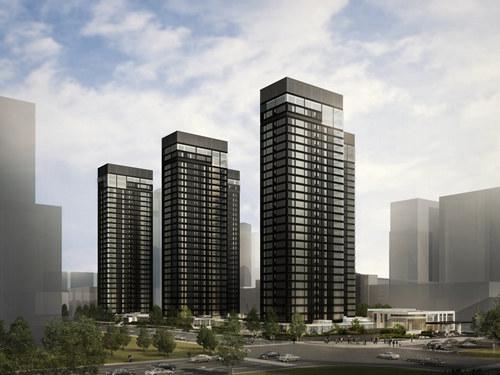 中大国际九号 城市高级住宅隆重封顶_商业频道_凤凰网
