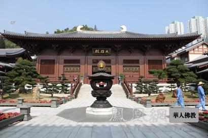 寺庙建筑内部结构