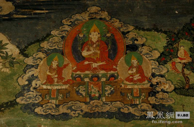 夏鲁寺壁画 显密佛教艺术精华