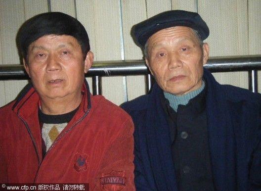 成龙与同父异母哥哥相认 10多位保安跟随(图)