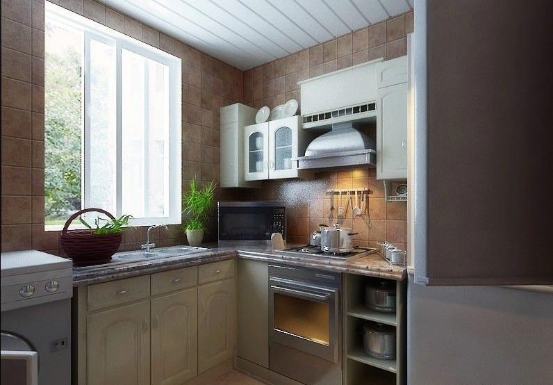 设计师强烈推荐 时尚厨房装修效果图