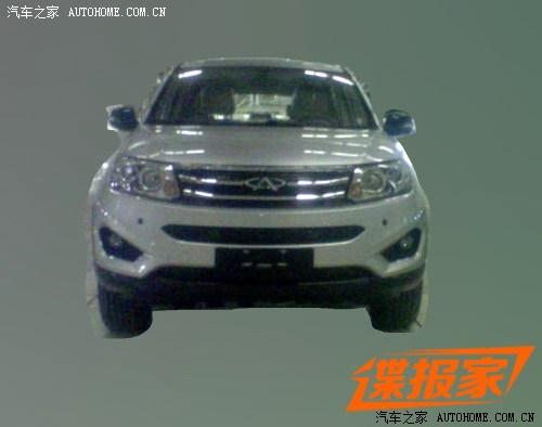 奇瑞全新SUV车型T21谍照-谍照再曝光 奇瑞T21或上海车展正式亮相高清图片